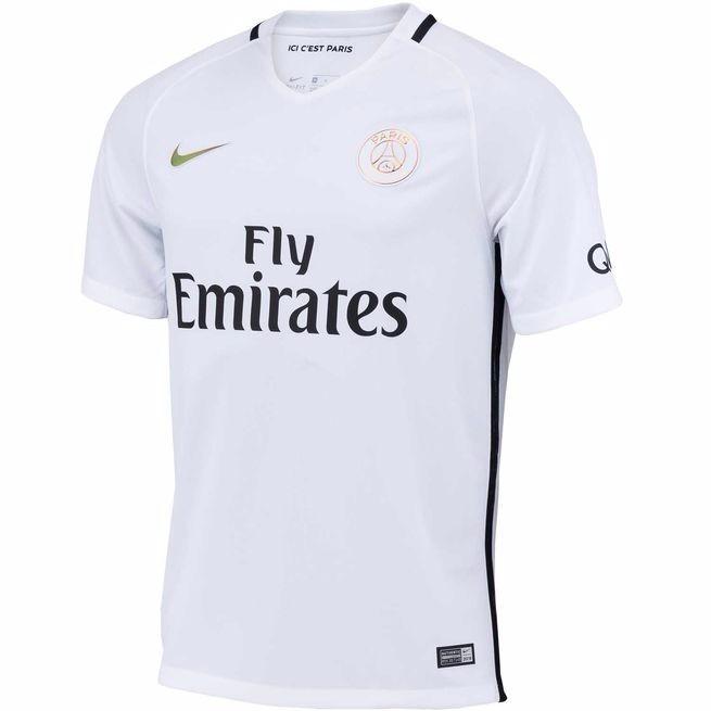 949b4207c Camisa Paris Saint Germain 2 Original 2016 2017 Frete Grátis - R ...