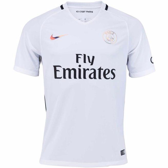 60236bab0e Camisa Paris Saint Germain 2 Original 2016 2017 Frete Grátis - R ...