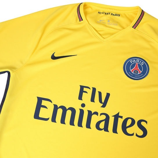 Camisa Paris Saint Germain Away 17 18 Nº 10 Neymar Jr Torced - R ... 6a88cff80384d