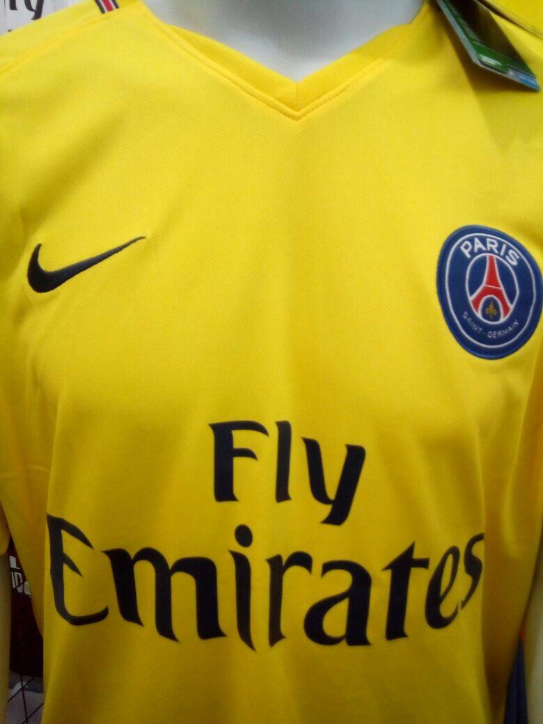 camisa paris saint germain away 2018 nº 10 neymar jr-amarela. Carregando  zoom. a28c678b100ab