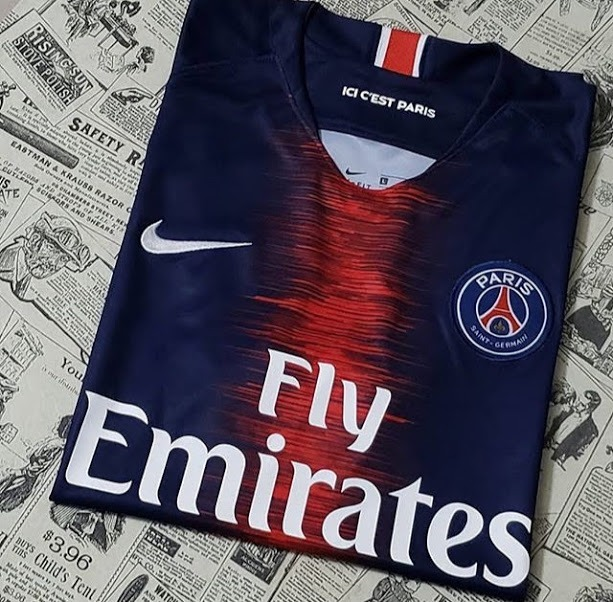 4a2b8631a86dc Camisa Paris Saint-germain Home 18 19 S n° Torcedor - R  120