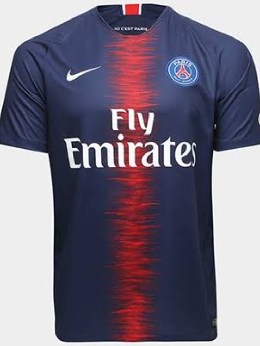 Camisa Paris Saint-germain Home 18 19 S n° Torcedor Nike - R  150 28c580057a820