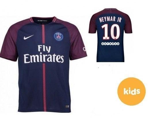 4d2362586a28d Camisa Paris Saint Germain Infantil Promoção - R  64