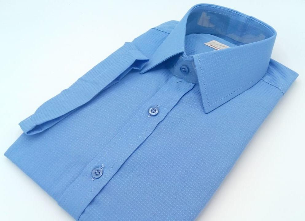 4a60b3e635 Camisa Passa Fácil Manga Curta Ref. M 187 - R$ 99,90 em Mercado Livre