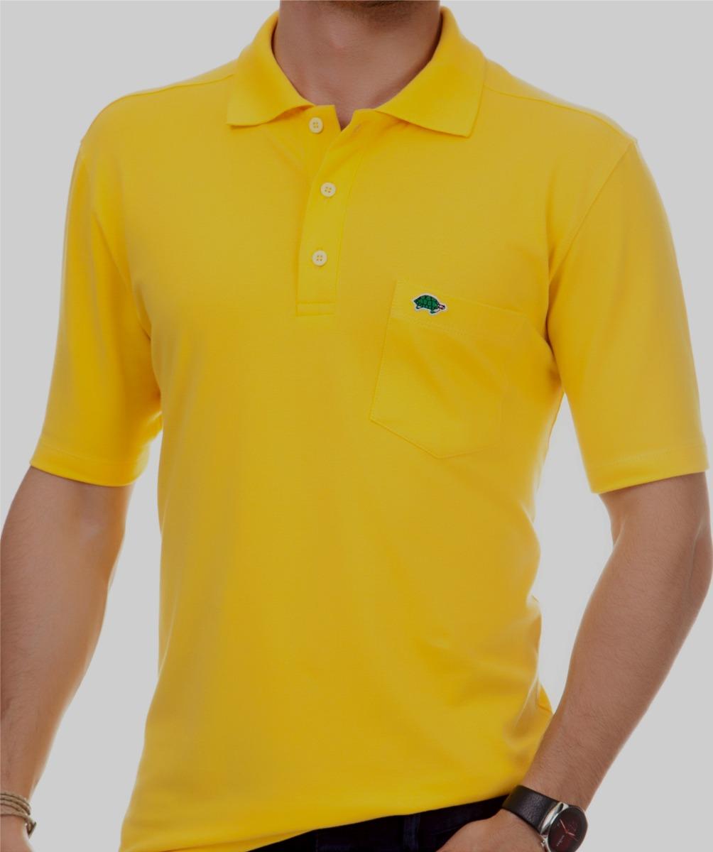 e9e6289875 camisa pau a pique polo amarelo amarelo - p pau a pique. Carregando zoom.