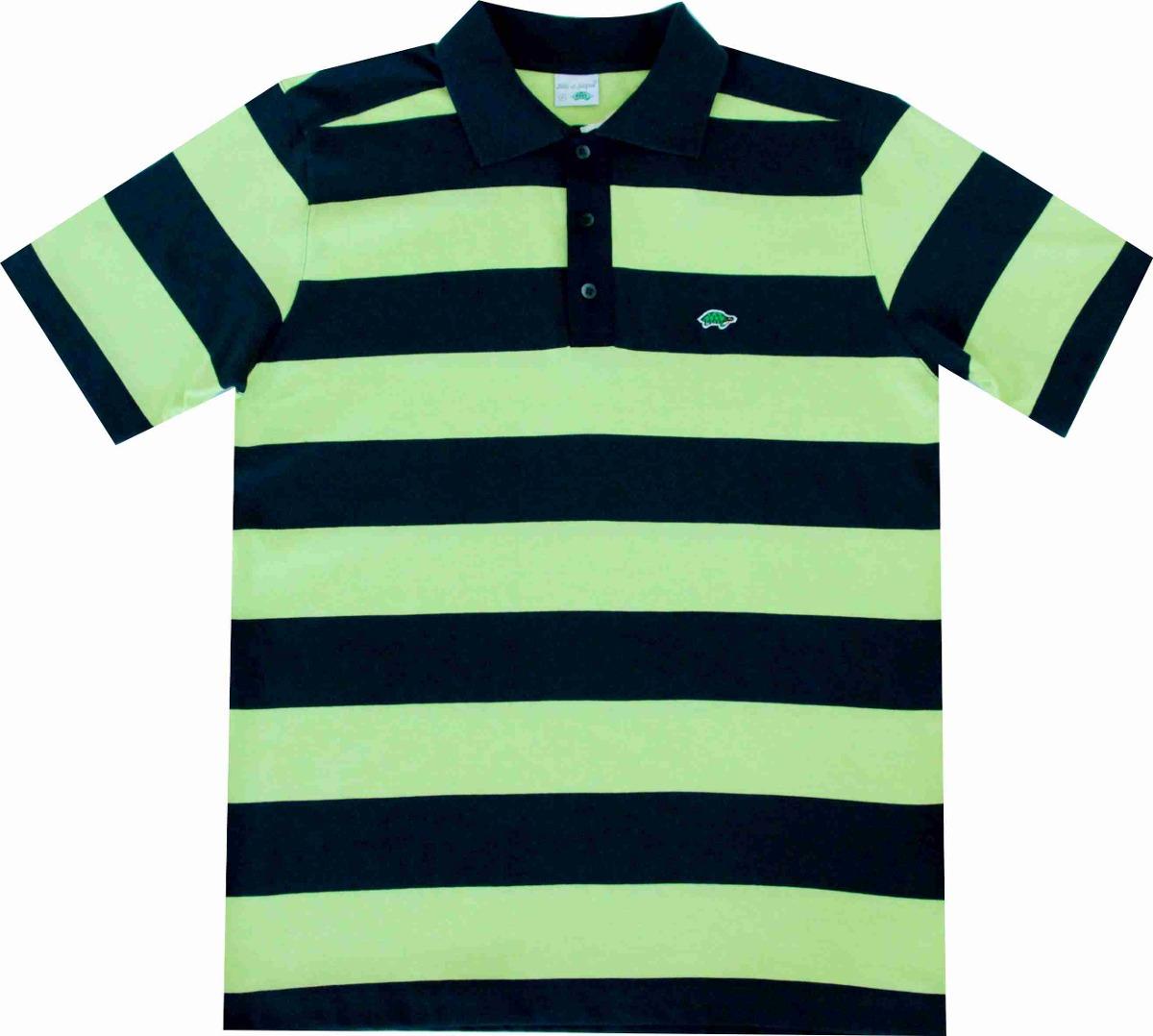 camisa pau a pique polo verde limão marinho limão - m pau a. Carregando  zoom. 77e9078f3fff3