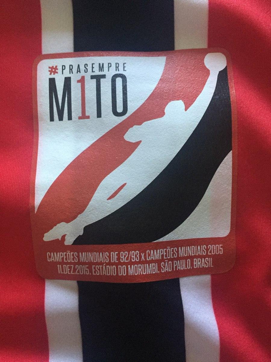 2c627214b5f Camisa São Paulo Despedida Rógerio Ceni Camisa Tricolor. - R  159