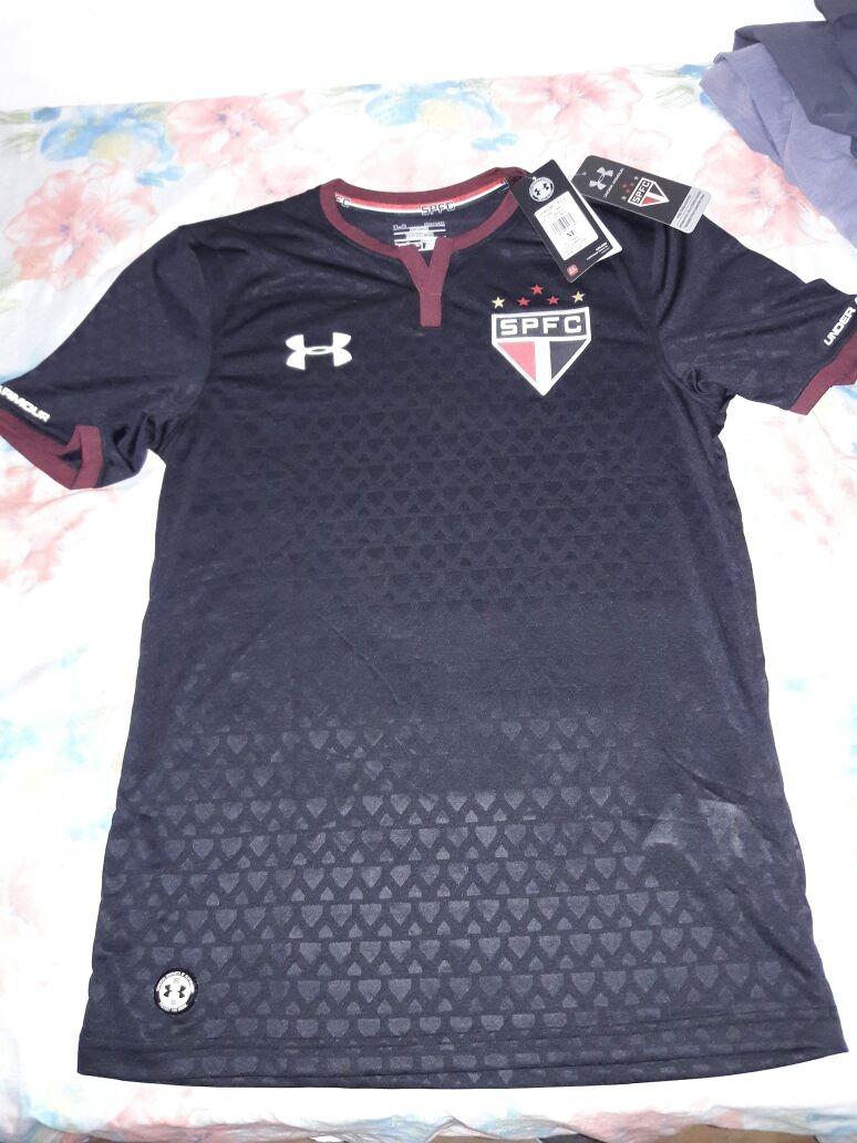 Camisa Sao Paulo Futebol Clube Torcedor Oficial - R  100 f6a65b1f29ad9