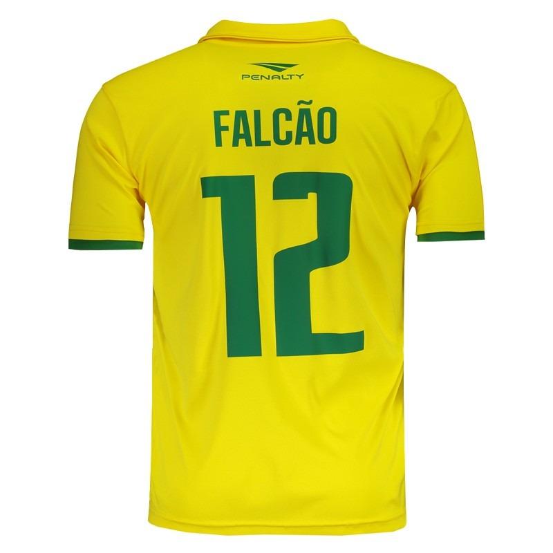 e2a2ade1cc camisa penalty brasil futsal cbfs i 2016 12 falcão. Carregando zoom.