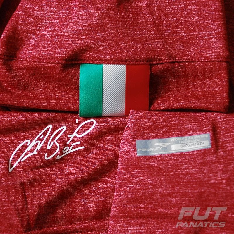 camisa penalty cruzeiro goleiro iii 2015 vermelha - futfanat. Carregando  zoom. e6481507fd38b