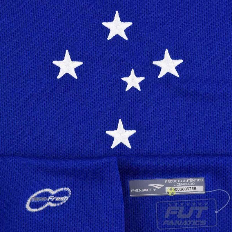 camisa penalty cruzeiro i 2015 - futfanatics. Carregando zoom. 8c51fff21aeea