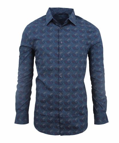 camisa perry ellis (importada de usa - 100% original)