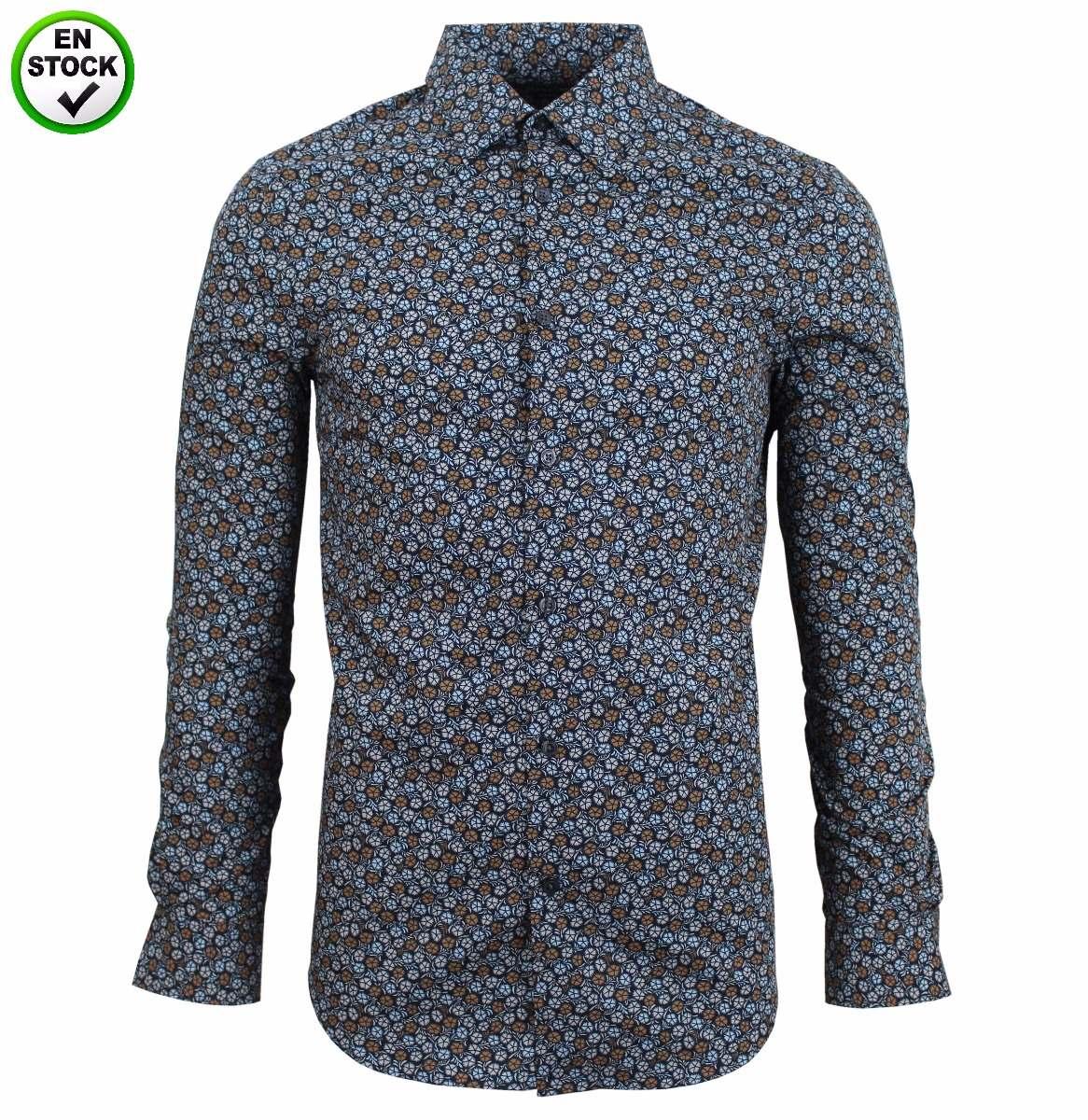 d32c6e55e7568 Camisa Perry Ellis (importada De Usa - 100% Original) - S  149