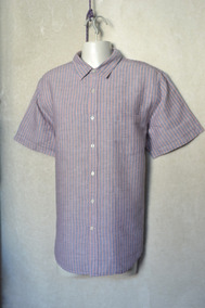 405be61b70 Camisa De Lino Perry Ellis Hombre - Camisas Corta en Mercado Libre ...