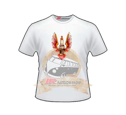 camisa personalizada automotiva spark plug (vela de ignição)