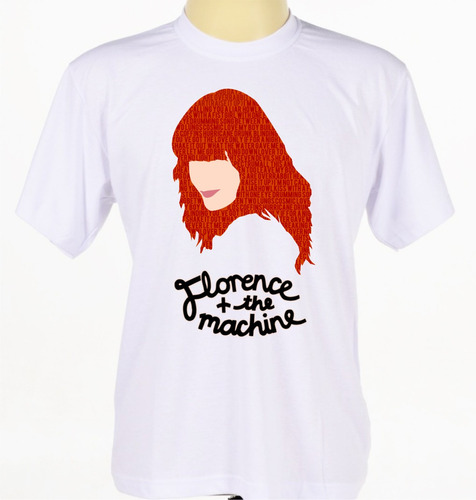 camisa personalizada banda rock florence and the machine