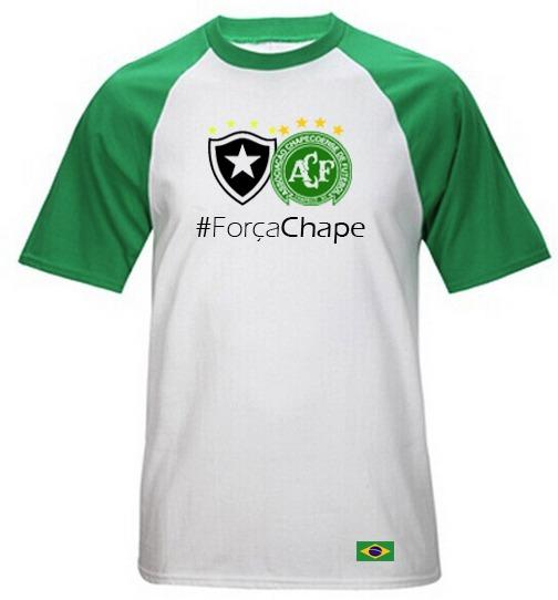 camisa personalizada botafogo camiseta chapecoense homenagem · camisa  personalizada botafogo camiseta chapecoense homenagem. Carregando zoom. ce63e1034edae