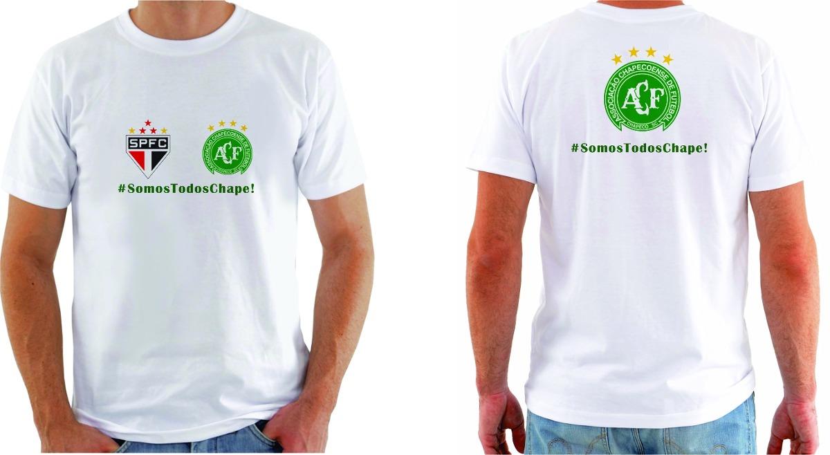 Camisa Personalizada Chapecoense Somos Todos Chape! - R  34 5c5e5058198b0