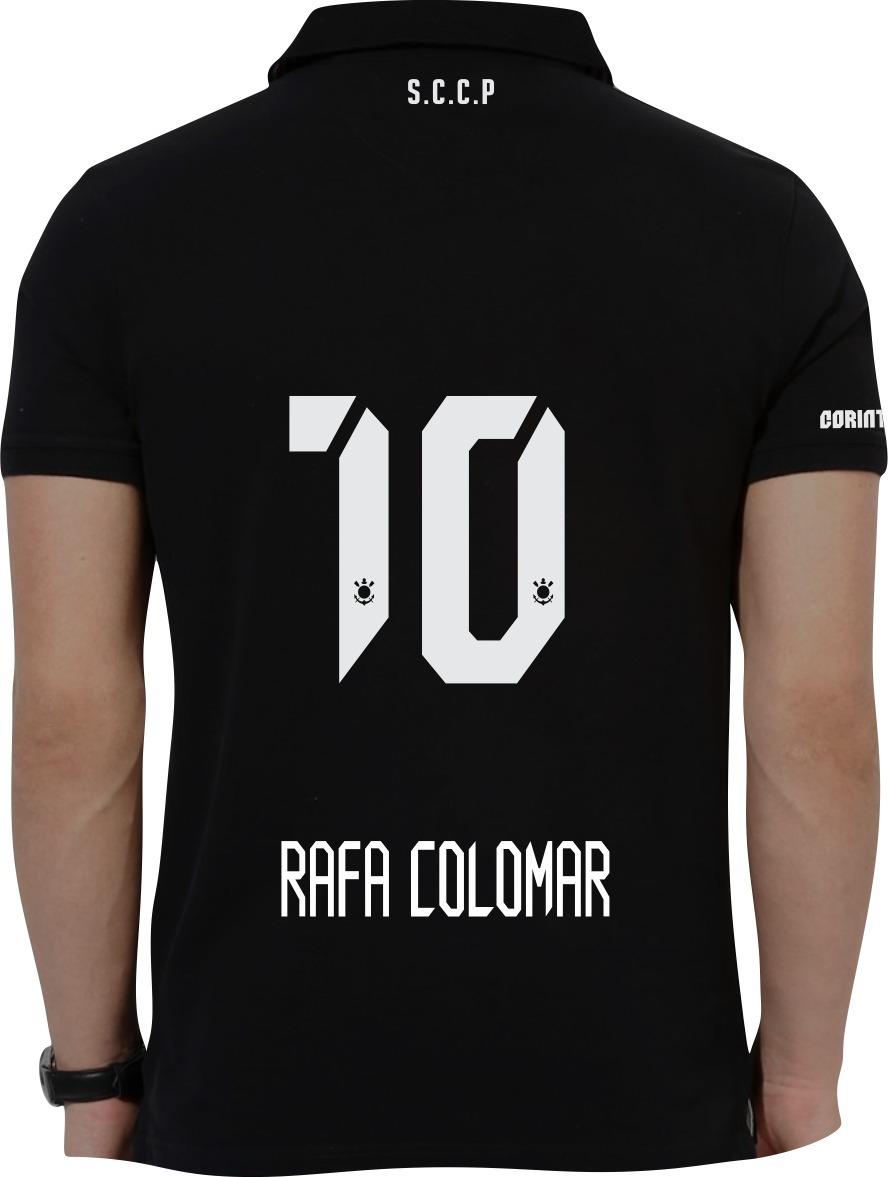 c8404ed2f Camisa Personalizada Corinthians Masculino Nome