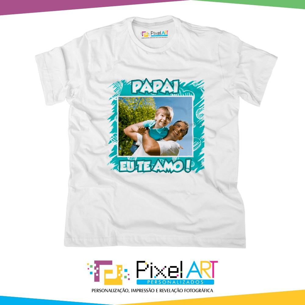 433904ea7 camisa personalizada dia dos pais com foto (todos os temas). Carregando  zoom.
