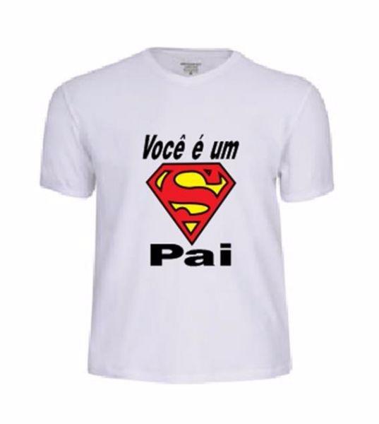 10007459f Camisa Personalizada Dia Dos Pais Com Foto (varios Temas) - R  35