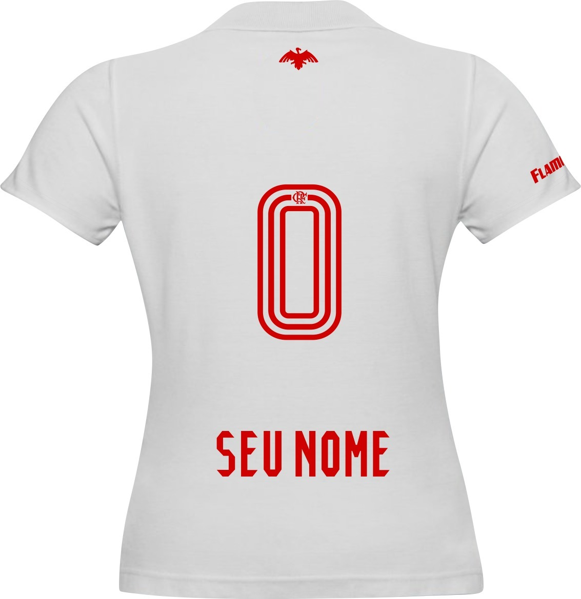 5577d6e53a camisa personalizada flamengo feminino adicione seu nome. Carregando zoom.