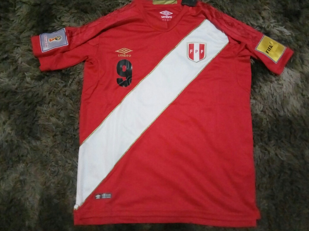 6843105fba camisa peru away copa do mundo 2018 guerrero  9. Carregando zoom.