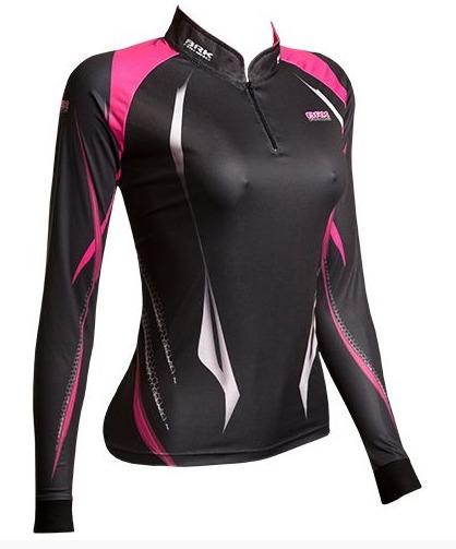 29b267ff3 Camisa Pesca Feminina Brk Sensitive C  Fpu 50 Baby Look Gg - R  149 ...