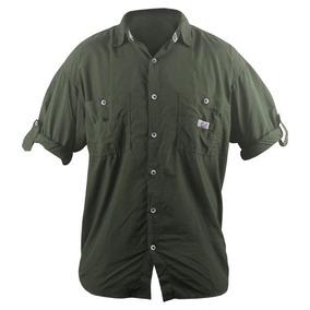 5b1f3814c Camisa Pescador Uv 50 no Mercado Livre Brasil