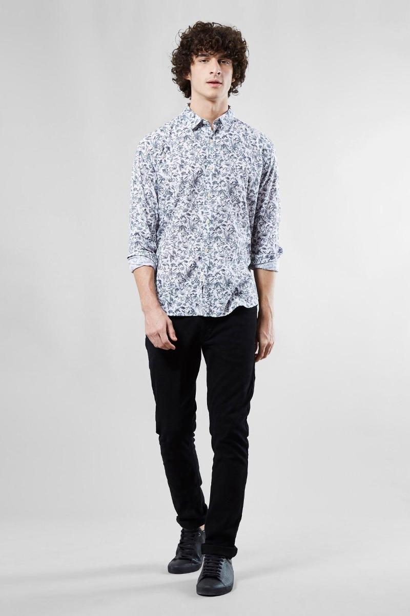camisa pf ml floral carnaval micro reserva. Carregando zoom. bb1e7f835de