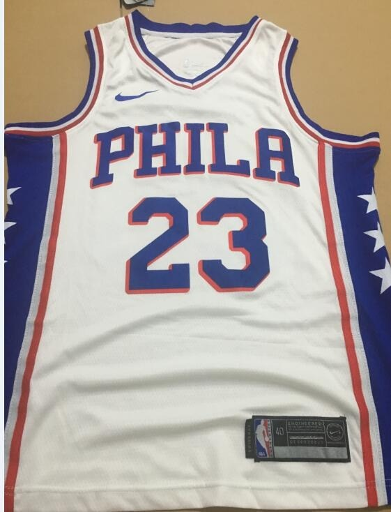 328afee34 Camisa Philadelphia 76ers Butler Simmons Nba 2018 Nike - R  219