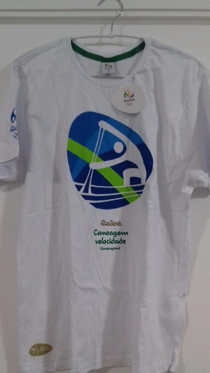 c58681093dbb8 Camisa Pictograma Esporte Olimpiadas Rio 2016 Canoagem Medal - R  43 ...