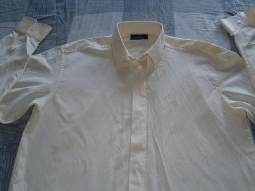 camisa pierre balmain talle 41/42 mangas largas