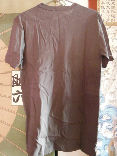 camisa playera basic concepts outfiters vintage gris dragon