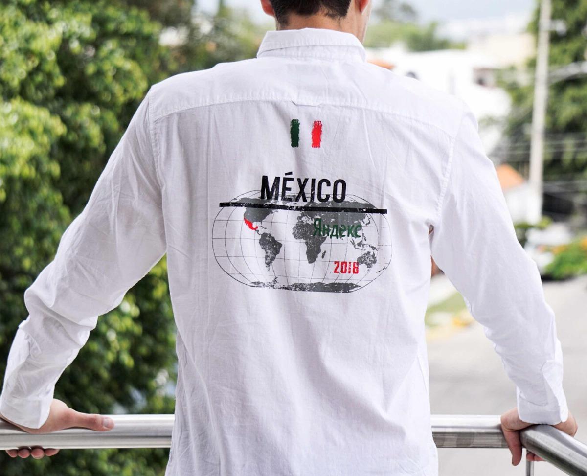 Camisa Playera México Mundial Selección Mexicana Fut -   500.00 en ... 5e94b6f54c6d9