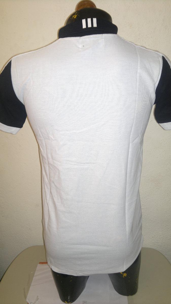 b34750be2bb0a camisa playera polo marca adidas blanco con negro caballero. Cargando zoom.