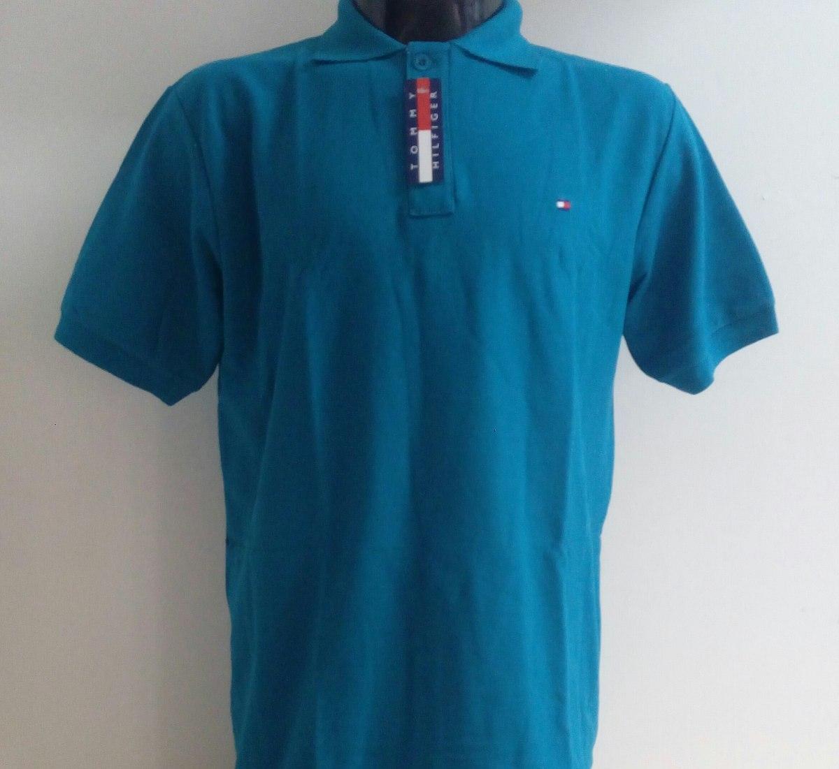 00c56589164 camisa playera polo tommy hilfiger verde esmeralda hombre. Cargando zoom.