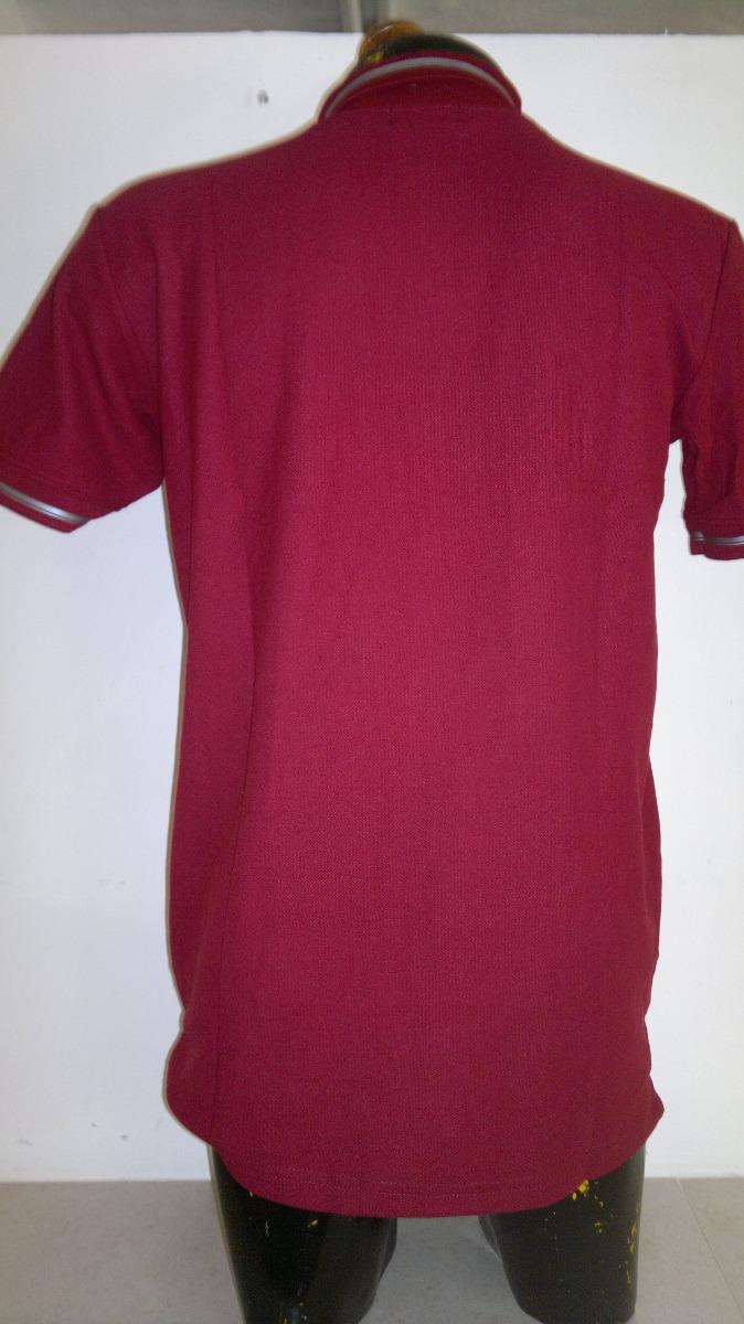 ae7f864429772 Camisa Playera Tipo Polo Armani Exchange Color Vino -   399.00 en ...