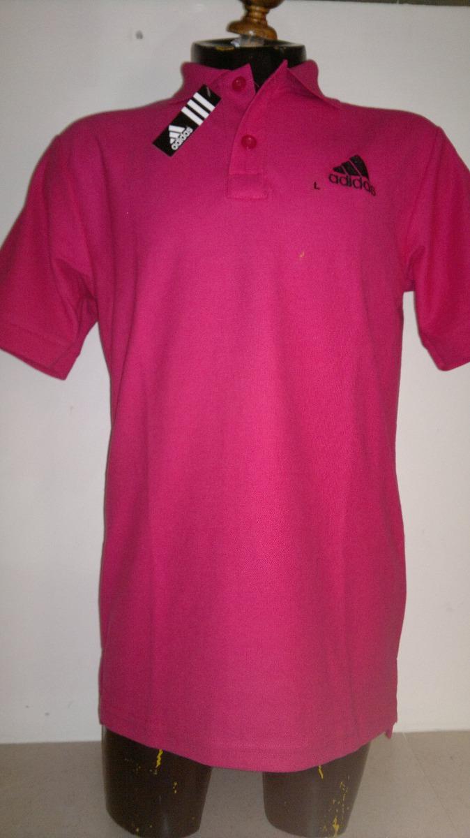 a7cbb0f2f4 Camisa playera tipo polo color rosa mexicano marca adidas cargando zoom jpg  674x1200 Camis camisas tipo