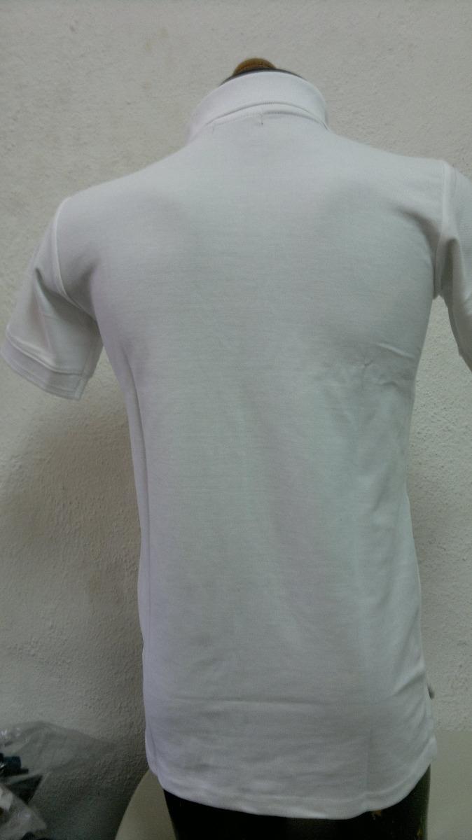 1d537ea3a34c8 Camisa Playera Tipo Polo Hugo Boss Blanco Estampado Militar ...