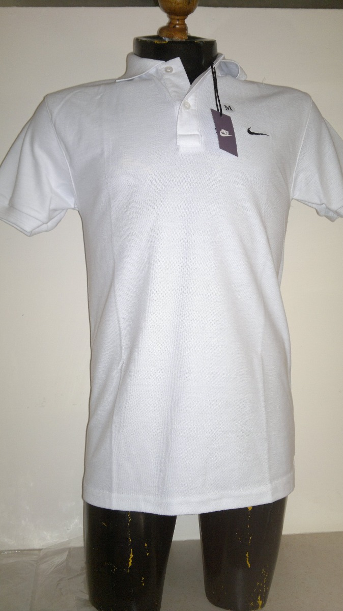 d54f1ab20c87c Camisa Playera Tipo Polo Marca Nike Color Blanco -   399.00 en ...