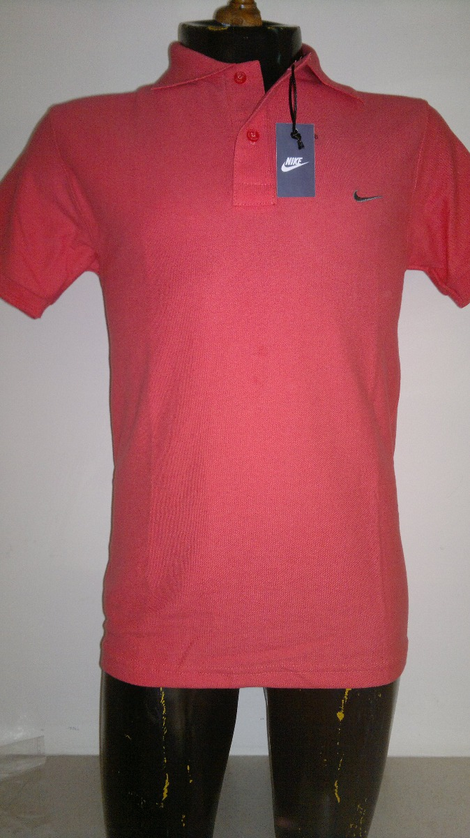 1582fb193060b Camisa Playera Tipo Polo Marca Nike Color Salmon -   399.00 en ...