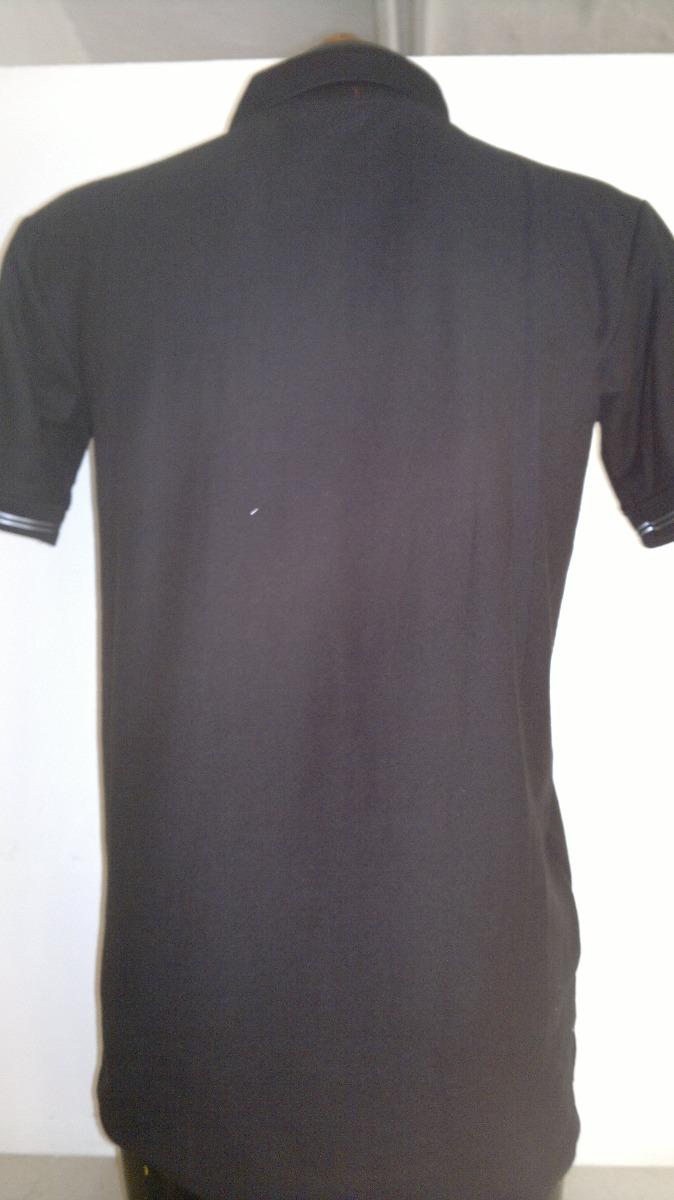 bedd2e1429013 camisa playera tipo polo puma color negro con gris caballero. Cargando zoom.