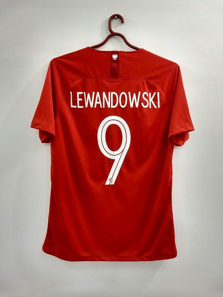 camisa polônia copa do mundo 2018 lewandowski pronta entrega. Carregando  zoom. 536f8d6b49b87
