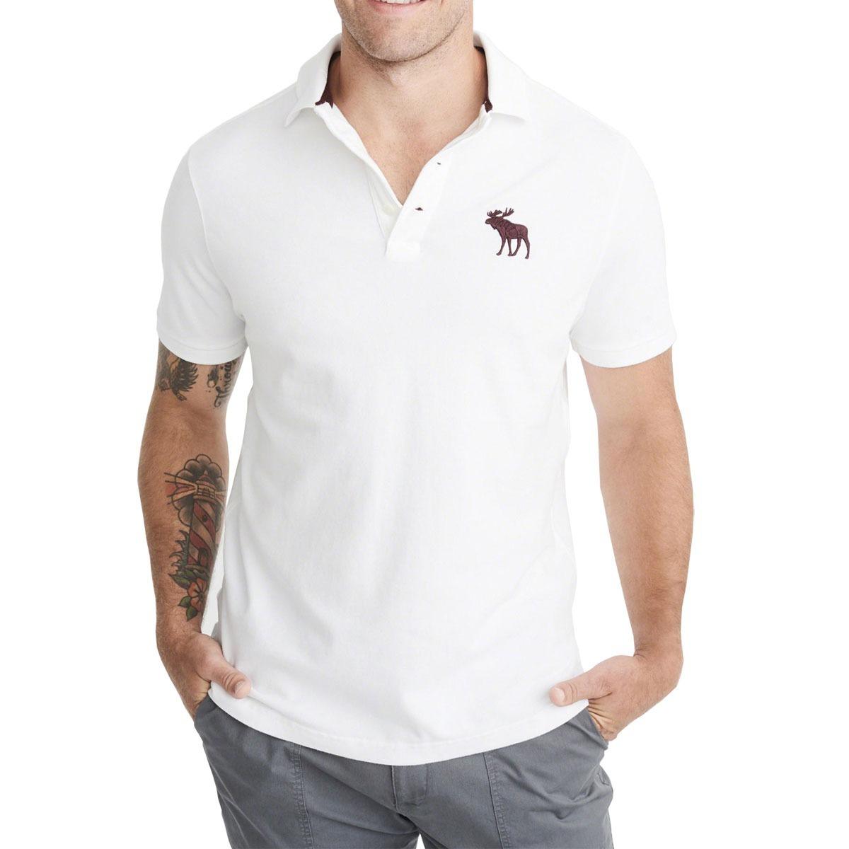 8152f7e25e camisa polo abercrombie masculina 100% original - tam  g p13. Carregando  zoom.