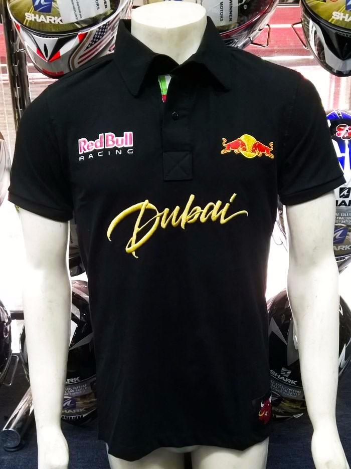 camisa pólo abu dhabi red bull bordada preta (pp162). Carregando zoom. 51396a176e2