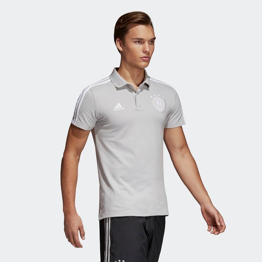 168f9c7a83c5b camisa polo adidas alemanha masculina 2018 seleção. Carregando zoom.
