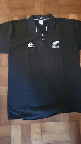 camisa polo adidas all blacks nova zelandia rugby