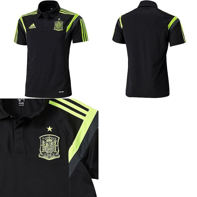 camisa polo adidas espanha d83115. Carregando zoom. 87d3ca00f7a2e