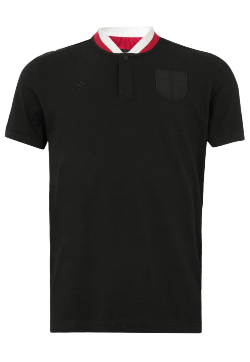 camisa polo adidas milan black m36291 masculina oficial. Carregando zoom. 0eb4605116937